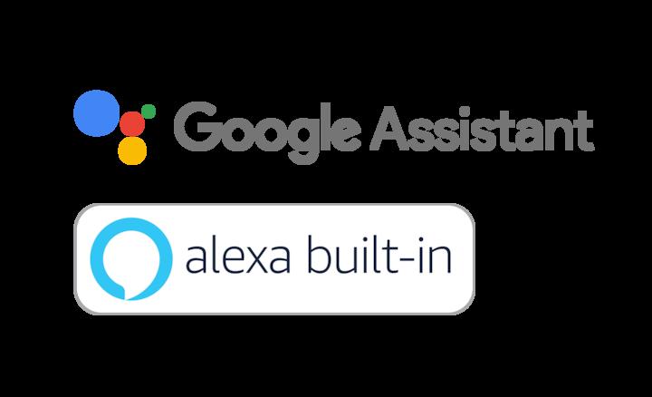 Google Assistant & Alexa logos
