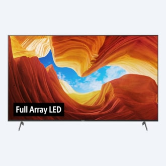 Gambar X90H | LED Full Array | Ultra HD 4K | High Dynamic Range (HDR) | Smart TV (Android TV)