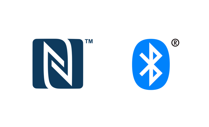Logo NFC & BLUETOOTH®