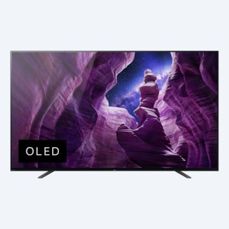 Gambar A8H | OLED | Ultra HD 4K | High Dynamic Range (HDR) | Smart TV (Android TV)