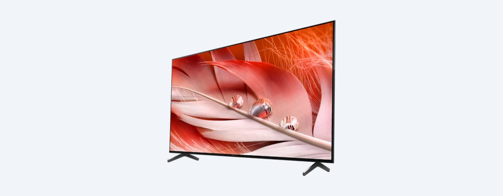 X90J BRAVIA XR TV side shot