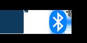 Bluetooth® and NFC logos