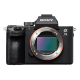 Picture of α7 III with 35mm full-frame image sensor