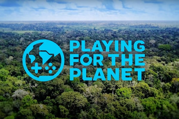 Gambar Playing for the Planet