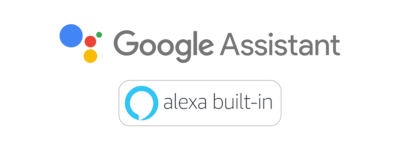 Logo Asisten Google & Alexa internal
