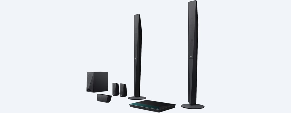 Gambar Sistem Home Cinema Blu-ray dengan Bluetooth