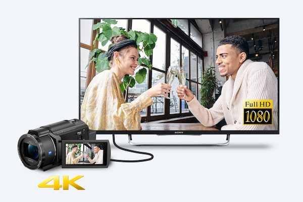 Full HD super-sampled di TV atau perangkat non-4K