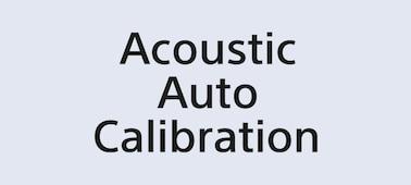 Logo Acoustic Auto Calibration