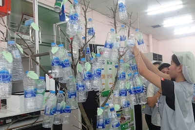 Recyclable Waste Donation Tree Project