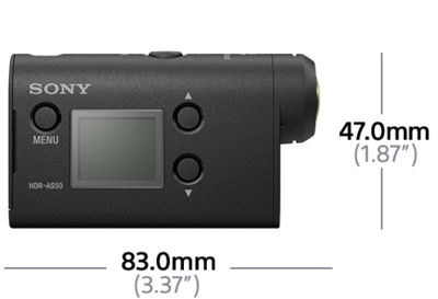 Gambar HDR-AS50R Action Cam dengan Live-View Remote