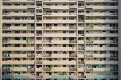 Exterior of HDB bulding taken with 4 shot pixel shift. with Sony Alpha 7R IV.