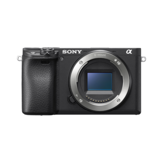 Picture of α6400 E-mount camera with APS-C Sensor
