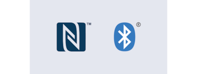 Logo NFC dan BLUETOOTH®