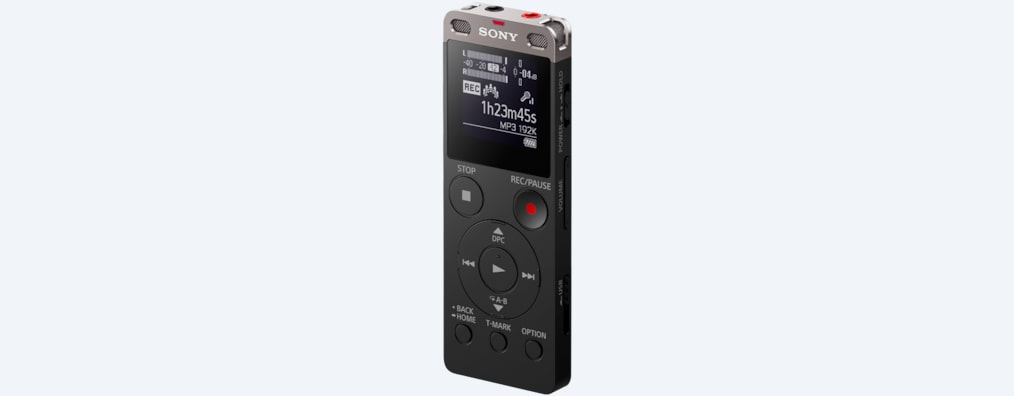 Images of UX560F Digital Voice Recorder UX Series
