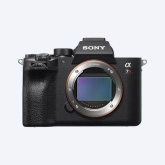 Gambar Kamera 35mm full-frame α7R IV dengan 61,0MP