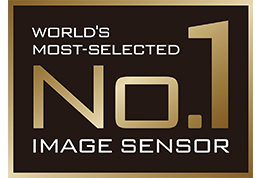 World's most selected image sensor