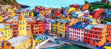 Gambar bangunan yang menunjukkan detail gambar 4K dengan lebih dari 1 miliar warna