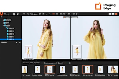 Remote, Viewer, dan Edit di Imaging Edge™