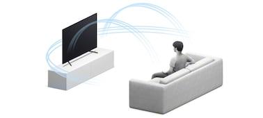 Detail suara multidimensi dengan 3D Surround Upscaling