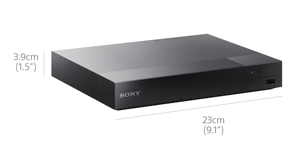 Small, simple design, small blu ray player