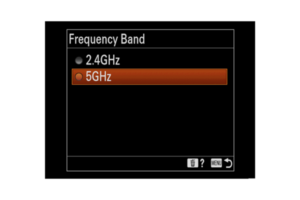 5GHz Wi-Fi provided