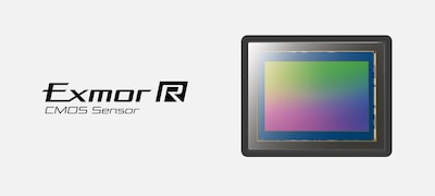 Sensor CMOS Exmor R full-frame 42,4 MP
