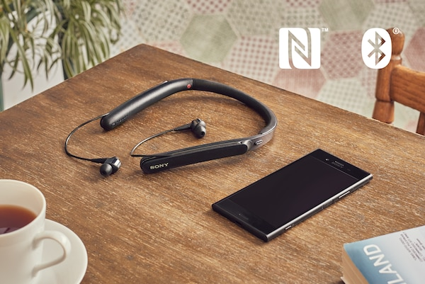 NFC dan BLUETOOTH ® WI-1000X
