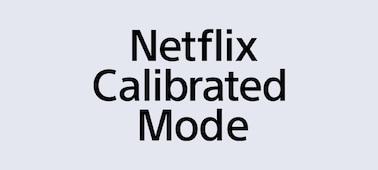 Logo Netflix Calibrated Mode