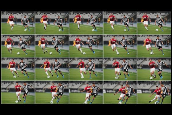 Pengambilan gambar kontinu cepat hingga 20 fps